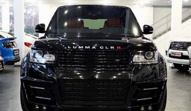 Ексклюзивний Range Rover за $ 320 з'явився в Києві (ФОТО)
