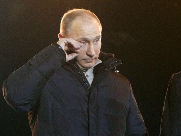 Путін плаче, фото з відкритих джерел