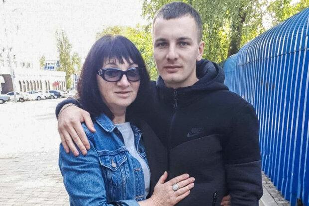 Елена Захарова и ее сын за месяц до ареста Руслана