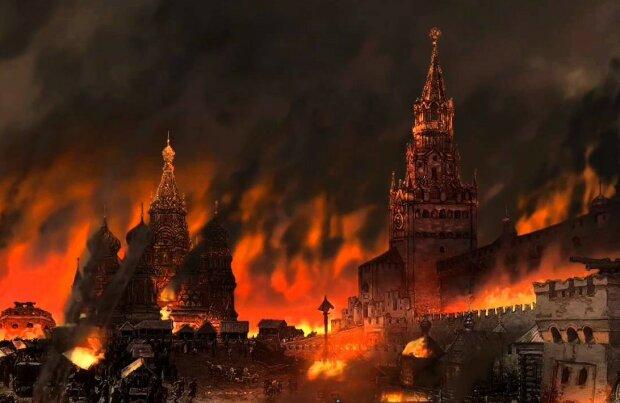 Москва у вогні, фото: YouTube