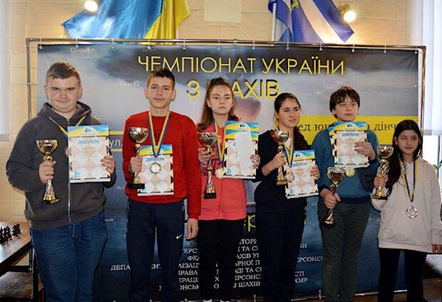 Людмила Иваницкая на награждении, фото: ukrchess.org.ua
