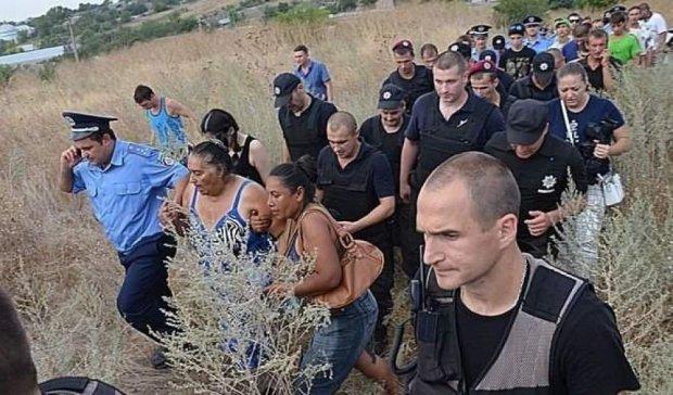 Цигани біжать від розправи з Лощинівки (ФОТО)