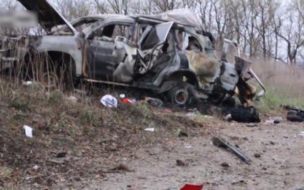 Вперше опубліковано відео підриву бойовиками машини ОБСЄ
