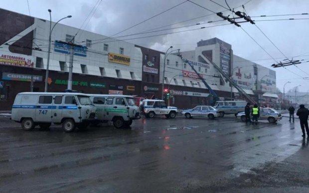 Митинг в Кемерово: в город вошли колонны военной техники