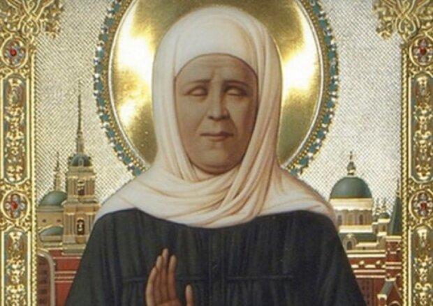 икона Матроны Московской, скриншот