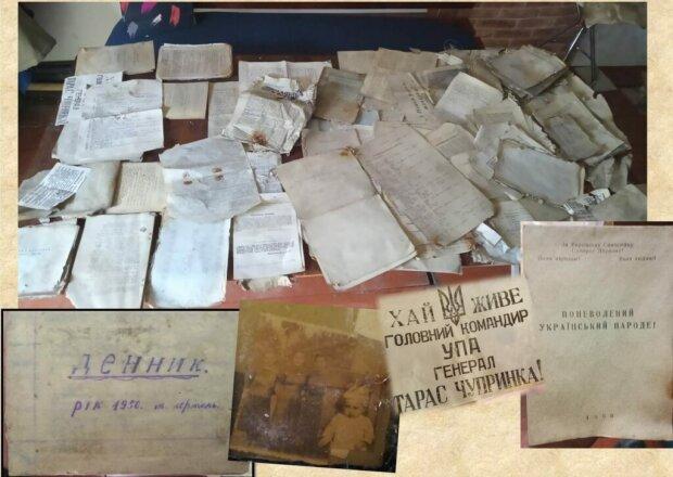 Львовянин откопал секретные документы Бандеры, спрятанные в бидоне