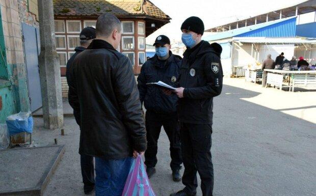Коронавірус в Україні, фото: Національна поліція