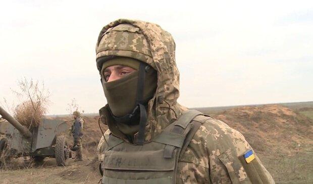 Боец ВСУ / скриншот из видео