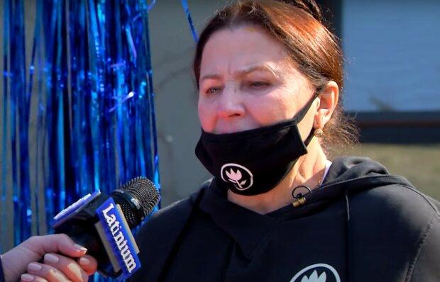 Нина Матвиенко, скриншот из видео