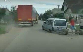 ДТП в селе Великие Лучки Мукачевского района, скриншот