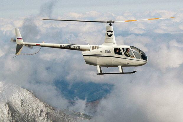 вертолет в горах, иллюстративное фото из свободных источников