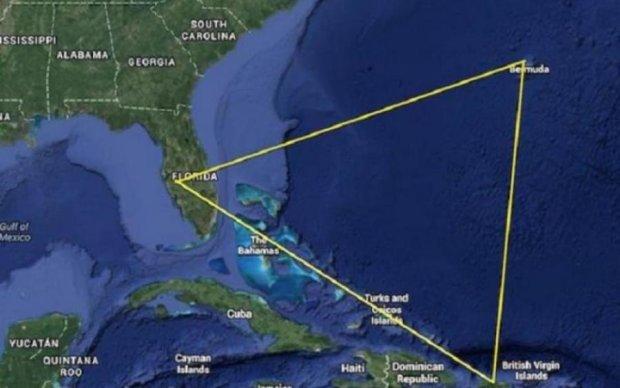 Бермудский треугольник напомнил о себе
