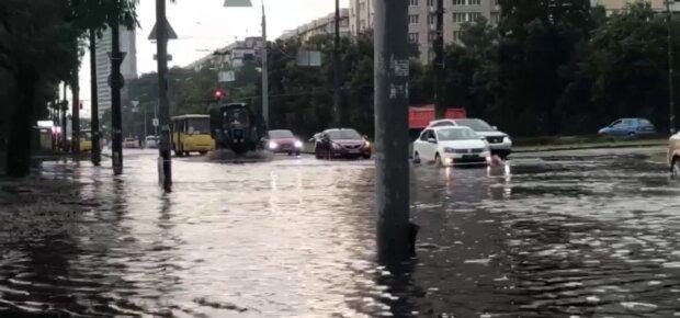 Негода в Києві, скріншот: Telegram