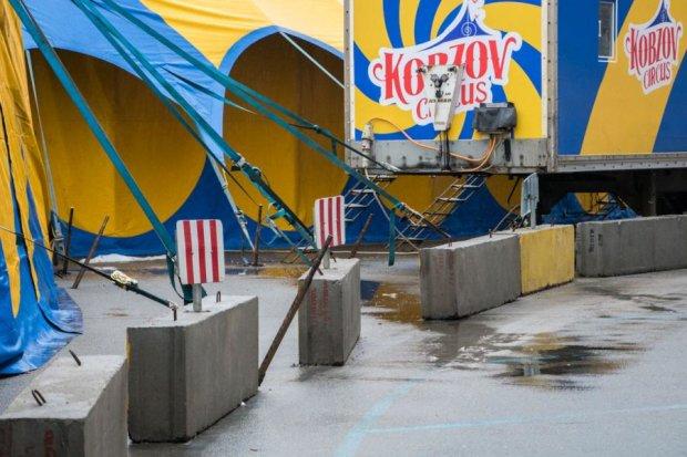 """Цирк какой-то: популярное шапито-шоу оставило """"подарок"""" киевлянам"""