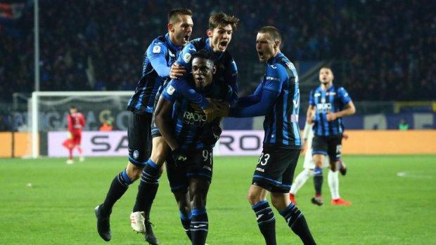 Аталанта сенсационно разгромила Ювентус в Кубке Италии: видео всех голов