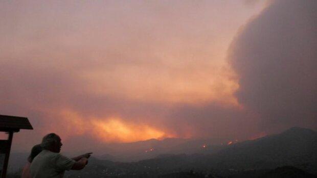 пожежа на Кіпрі, джерело: EPA