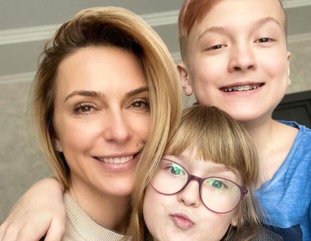 Марина Боржемська з дітьми, фото з Instagram