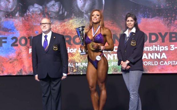 Українка виграла чемпіонат Європи з бодібілдінгу