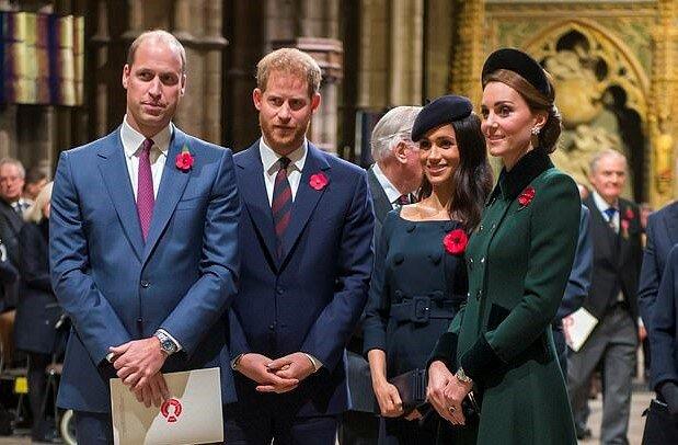 Ворожнеча між принцами Гаррі та Вільямом: що коїться у королівській родині,  Меган Маркл і Кейт Мідллтон доклали руку