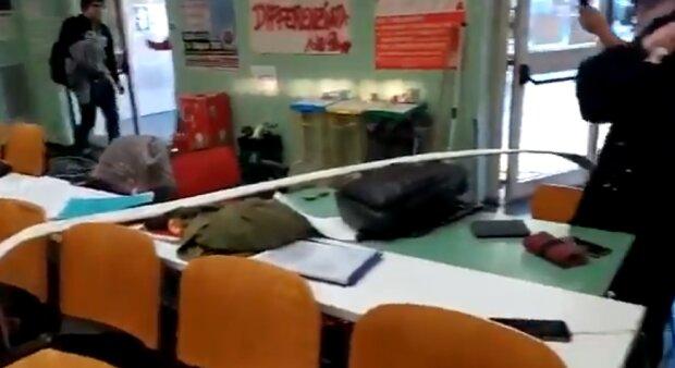 Землетрус в Італії, скріншот з відео