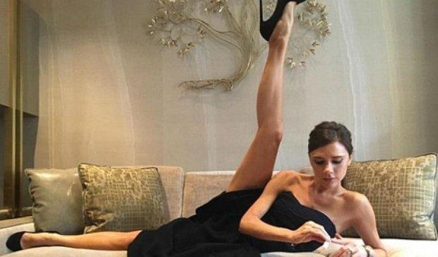 Высокие каблуки изуродовали ноги Виктории Бекхем