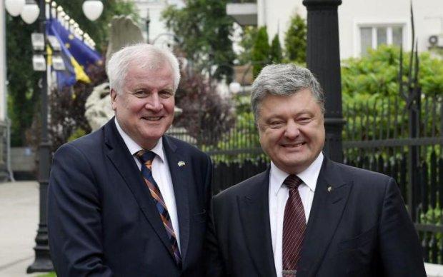 Прем'єр Баварії сказав Порошенкові, що думає про дружбу з Росією