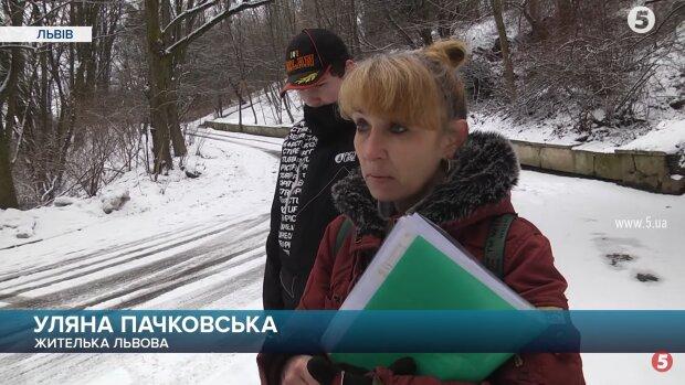 """Жінка виграла суд у """"Львівелектротрансу"""", скріншот із відео"""