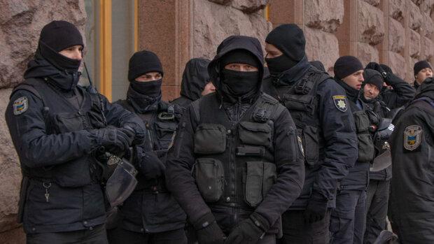 Патрульная полиция и Нацгвардия в Киеве, фото: Информатор