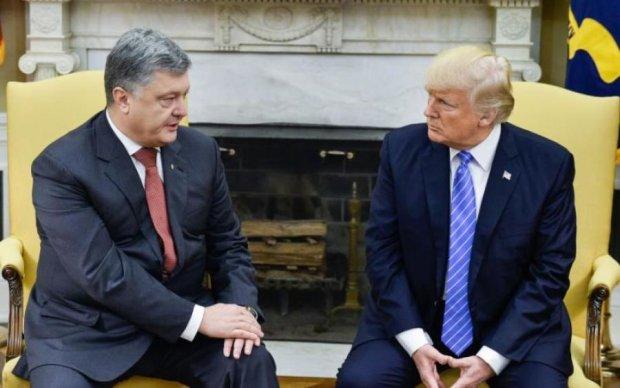 """Карикатурист показал """"победу"""" Порошенко в США"""
