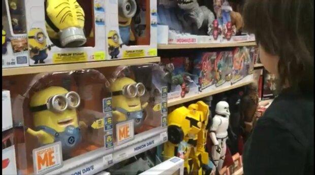 Магазин іграшок, фото: скріншот з відео
