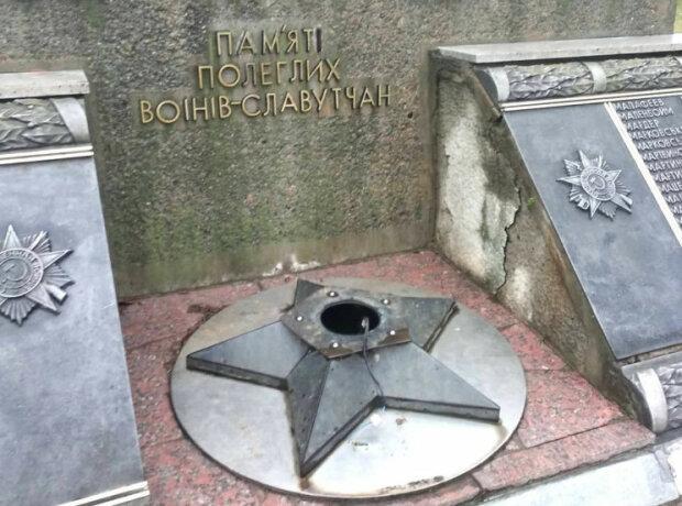 """На Хмельнитчине вандалы украли вечный огонь, украинцы в ярости: """"Очень руки чешутся?"""""""