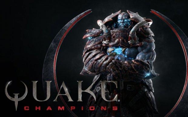 Творці Quake Champions показали відео арени Ruins of Sarnath