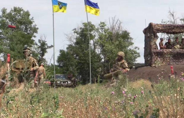 Ситуація на Донбасі, скріншот: ООС / Facebook