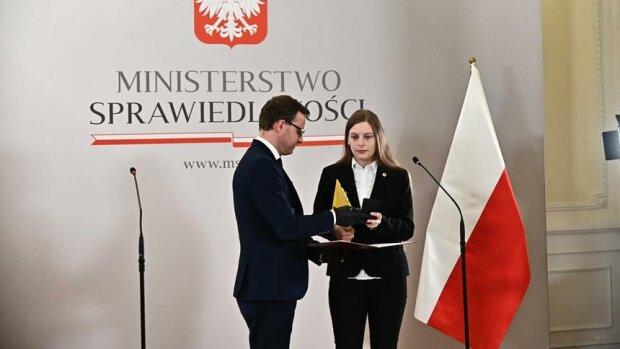 Медаль за запобігання аборту, фото: fakt.pl