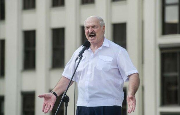 Олександр Лукашенко, скріншот відео