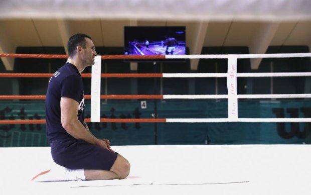 Кличко показав своє незвичайне тренування