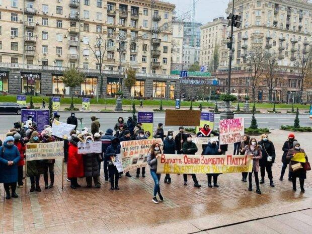 Мітинг проти Пальчевського, фото: Алла Михайлова