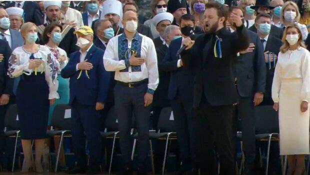 Державний гімн України у виконанні Михайла Хоми (Dzidzio)