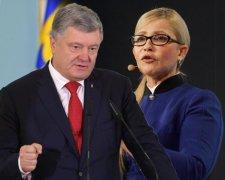 Порошенко та Тимошенко