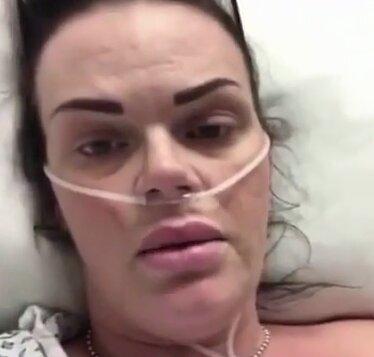 болеющая женщина, скриншот из видео