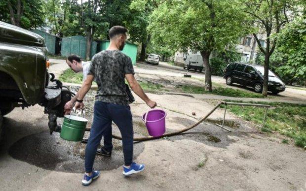 Киев оставят без холодной воды: список адресов