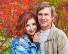 Степан Казанин из Квартала 95 с женой