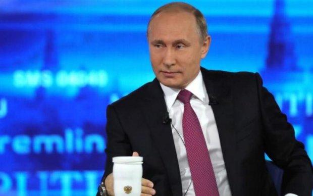 Внуки Путина стали темой очередной карикатуры