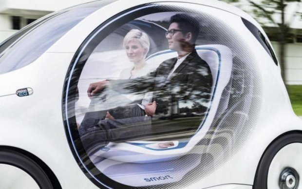 Німецький концерн Daimler представить автомобіль майбутнього