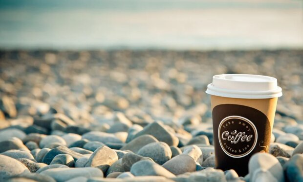 Утро, кофе, море - фото Pixabay