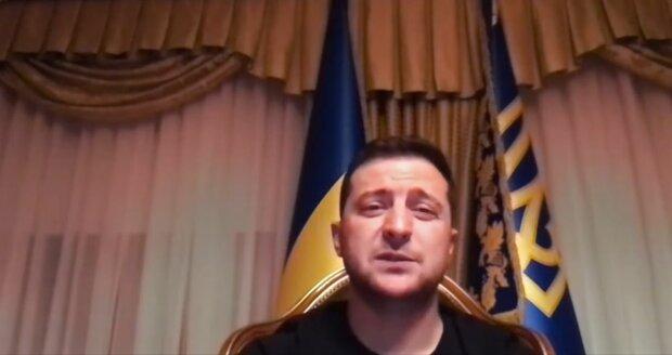 Володимир Зеленський, фото: скріншот з відео