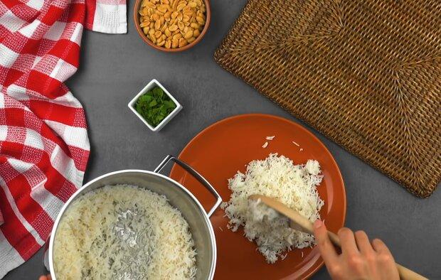Рис, фото: кадр из видео