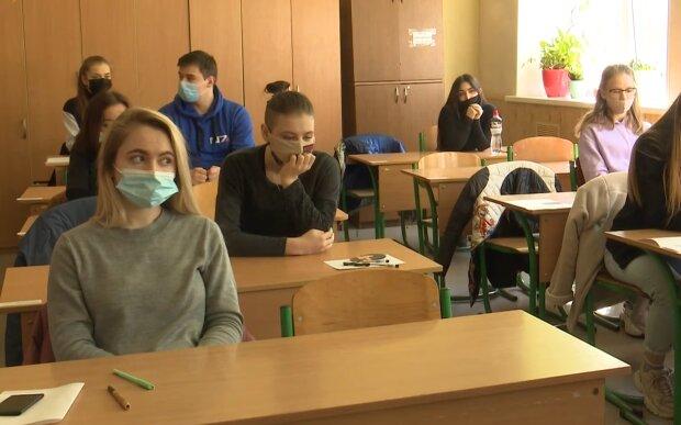 Школа, скріншот із відео