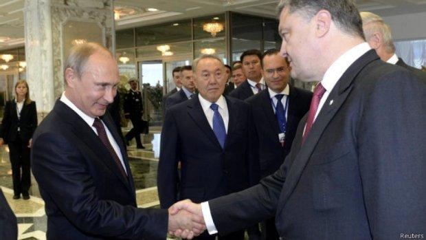 Путін не покликав Порошенка на День перемоги