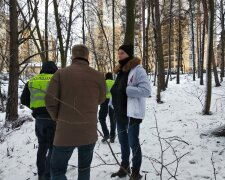 Поиски пропавшего подростка под Киевом, фото: Информатор